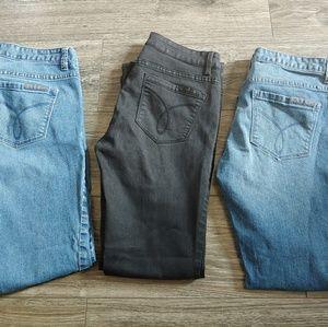 Women's Calvin klein Straight jeans Lot size 28